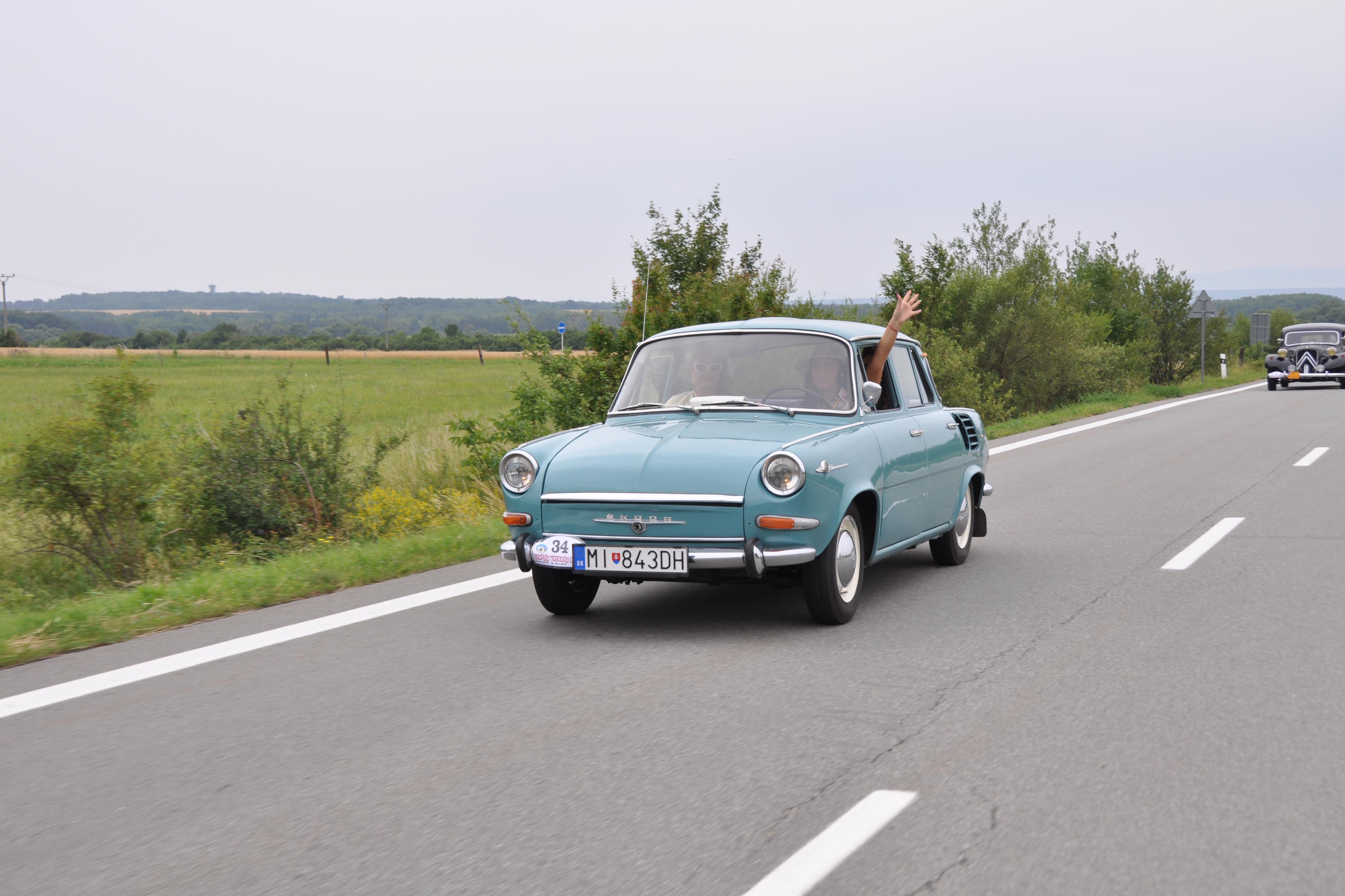 Škoda 1000 MB, 1964