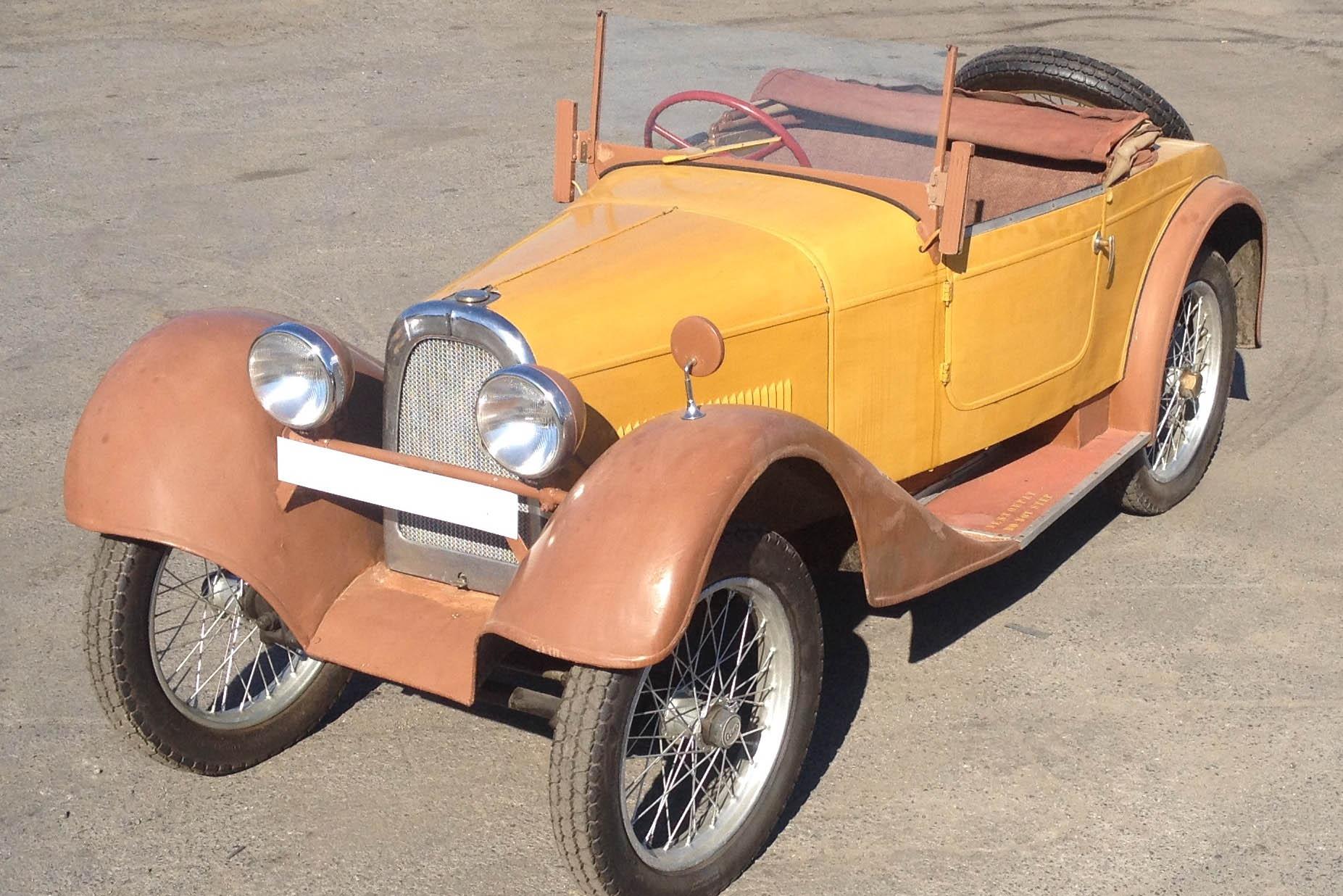 Aero 500, 1932, pôvodný stav