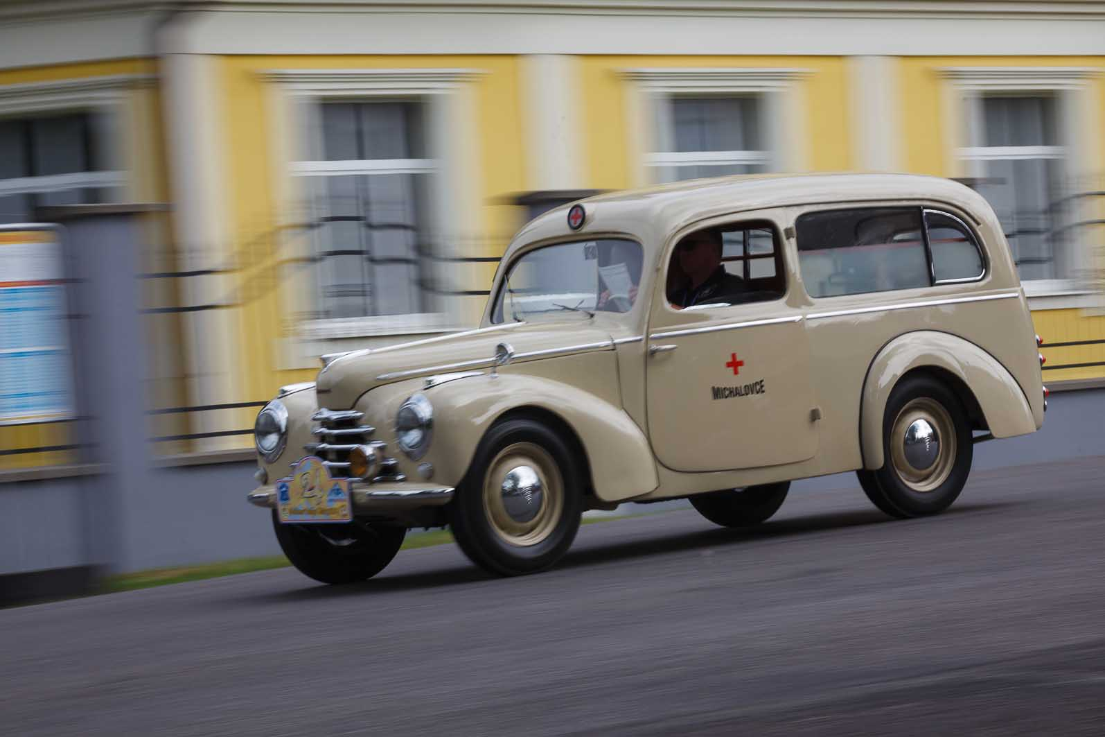Škoda Tudor sanitka, 1948